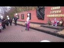 Исполнение Катюши у Мемориала Панфиловцам
