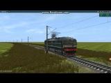 ТЭП70-0287 | Новая модель | Trainz 12