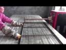 Изготовление сварной сетки, контактная сварка