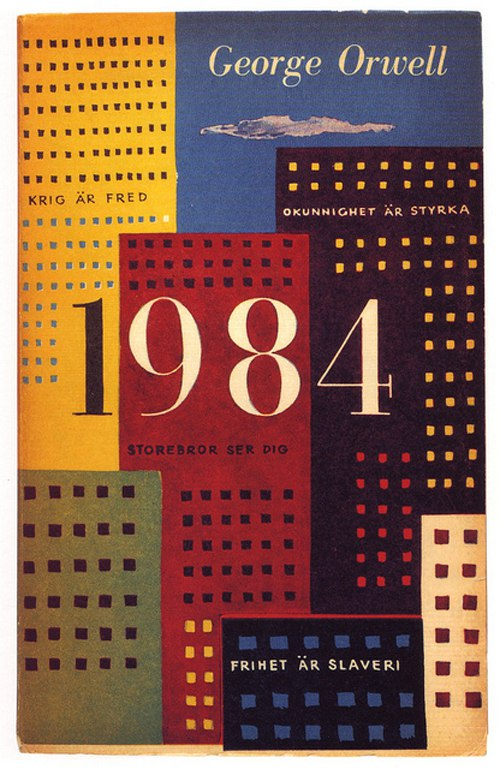 george orwell s 1984 analysis Free essay: the title of the novel, 1984, was meant to indicate to its readers in 1949 that the story represented a real possibility for the immediate.
