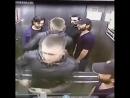 3 muslimer spytter på en russer i en heis. Stor feil.