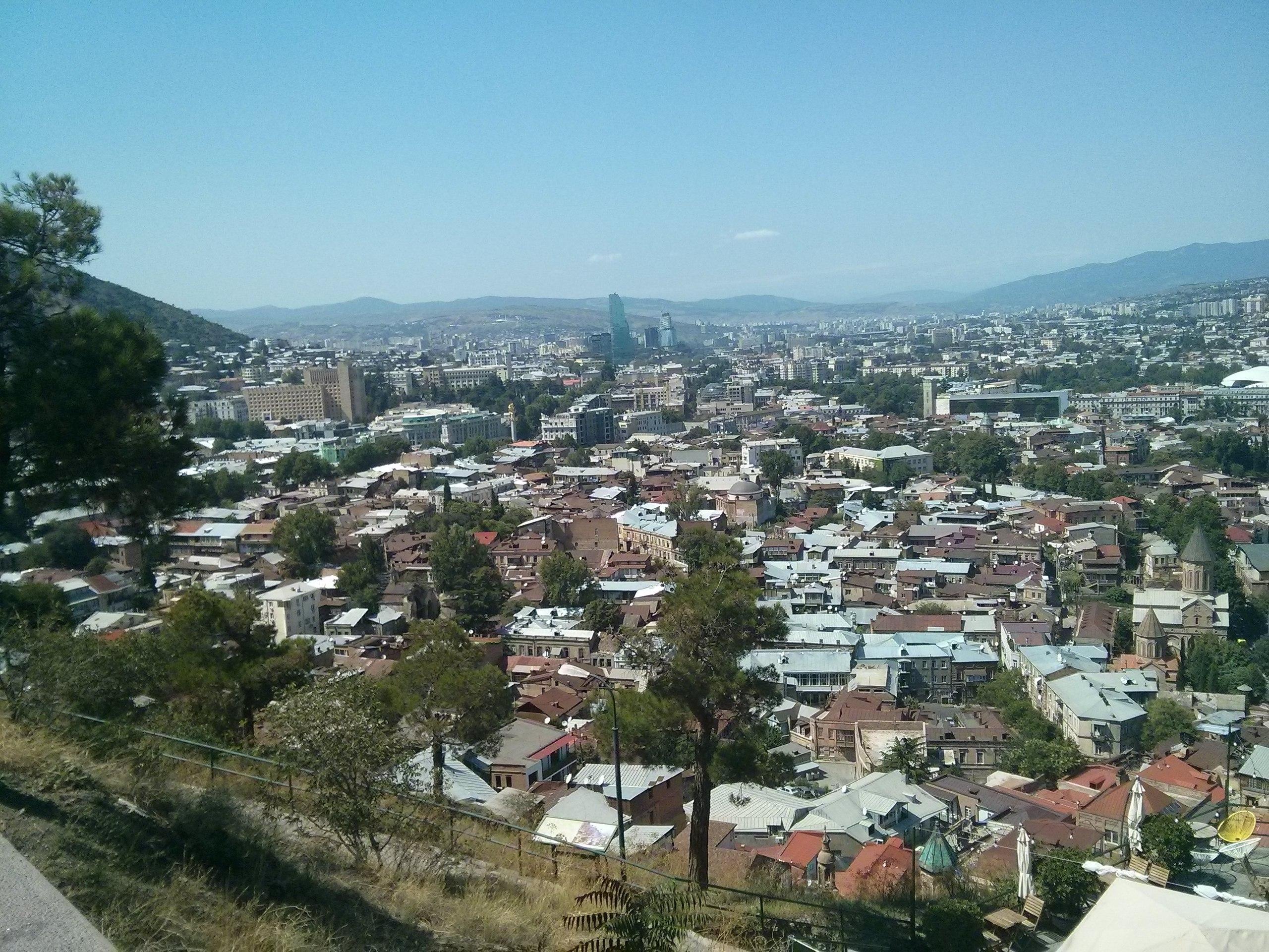 Вид на Тбилиси_2