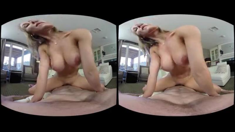 (VR) Nicole Aniston, Ryan Mclane [HD 1080, Big Tits, Blonde, Blowjob, Bubble Butt, POV, Virtual Reality, Porn 2016] - 360p