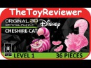 Original 3D Crystal Disney Cheshire Cat Puzzle BePuzzled Unboxing Toy Review by TheToyReviewer