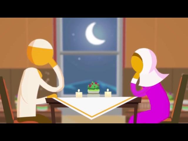 6/6 Привычки счастливой Мусульманской Семейной Пары. Они находят время для друг д...