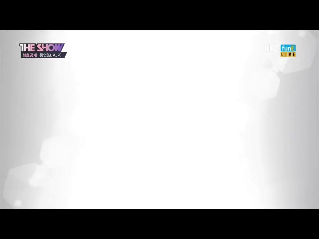 170613 SBS funE - The Show / JONGUP (B.A.P) _ Try My Luck | Special Stage