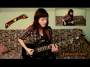 My Top 5 Helloween Riffs Guitar Cover by Joan Cat