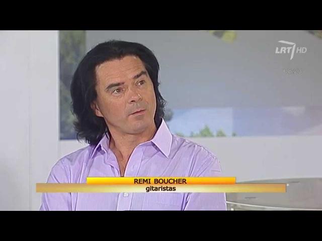 LRT studijos svečias - gitaros magu vadinamas kanadietis Remi Boucher (HD)