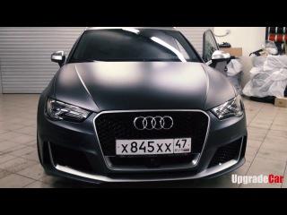 Audi RS3. Адаптивный круиз контроль . Приборная панель Virtual Cockpit. Рестайлинговые фона...
