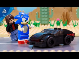 LEGO Dimensions - Meet that Hero: Sonic the Hedgehog Meets Knight Rider | PS4, PS3