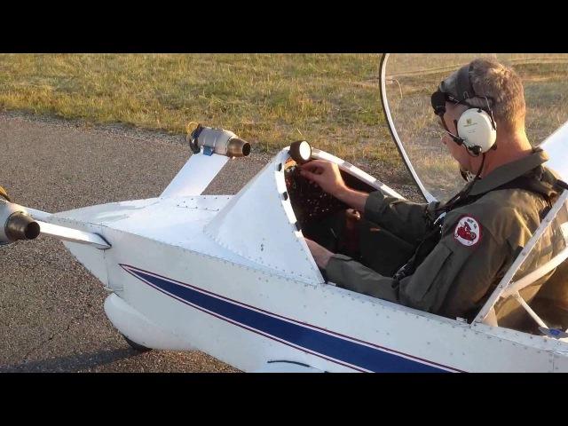 Colomban CriCri Jet Display Flight Edith Piaf
