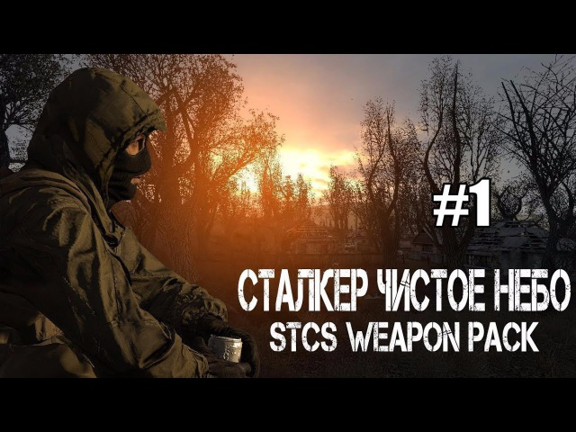 S.T.A.L.K.E.R. - Clear Sky STCS Weapon Pack. 1