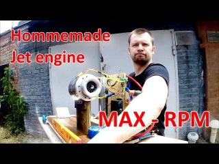 Homemade Jet Engine - Самодельный ТРД