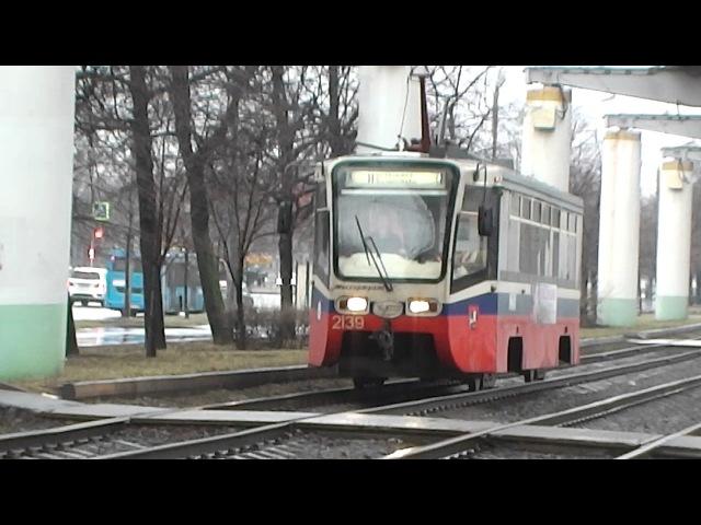 Трамвай 71-619.
