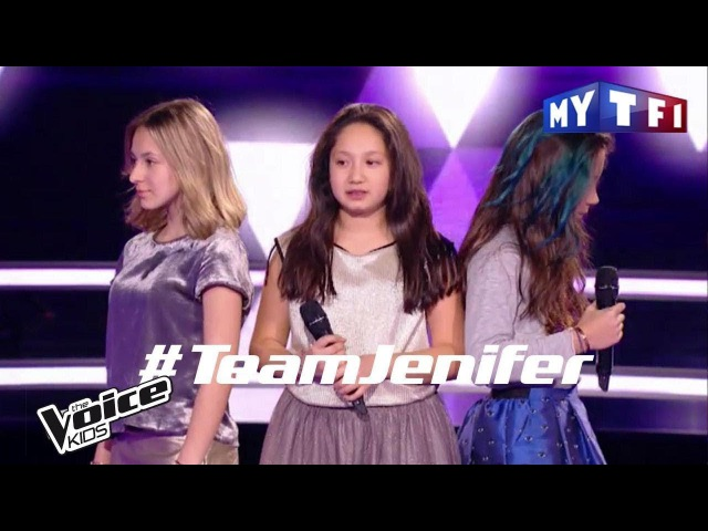 Lyn / Célia / Leelou - One last time | The Voice Kids France 2017 | Battle