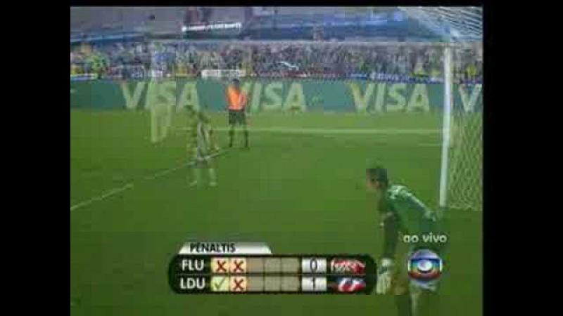 Fluminense x LDU 02/07/08 - Pênaltis