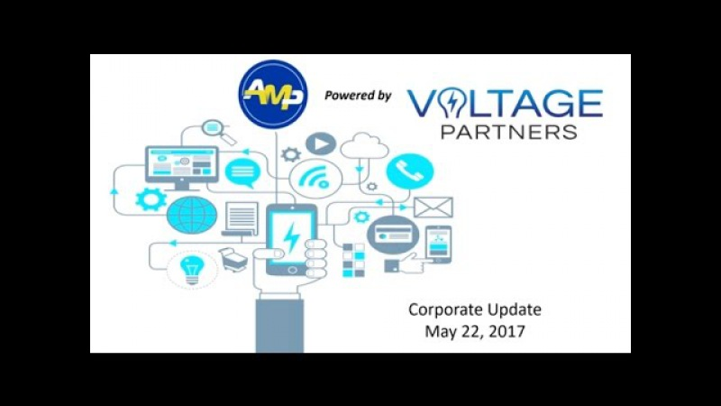AMP Powered by Voltage Partners Weekly Updates 22.05.2017