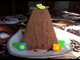 Шоколадная Творожная Паска без ВыпечкиСирна ПаскаEaster Cottage Cheese CakeПростой Рецеп...