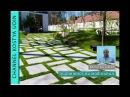 Как сделать дорогу на бетонной подушке, садовая дорога (How to make a granite road, garden road)