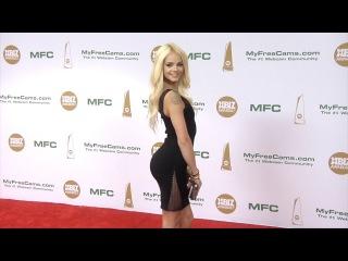 Elsa Jean XBIZ Awards 2017 Red Carpet Fashion