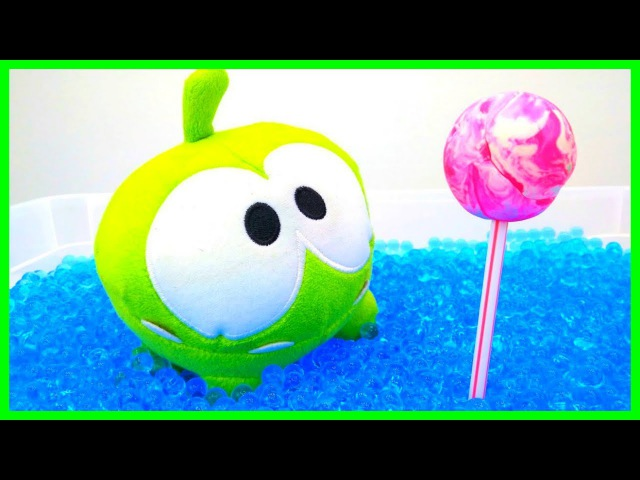 Om Nom Stories Cartoon for Kids - Cut the Rope Adventures - OmNom Toys Funny Kids Videos