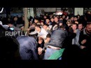 Georgia Scuffles erupt as anti LGBT protesters gather outside football stadium