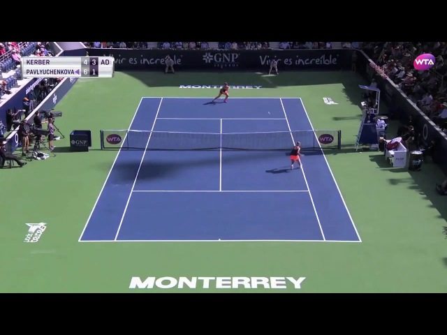 2017 Abierto GNP Final | Shot of the Day | Anastasia Pavlyuchenkova