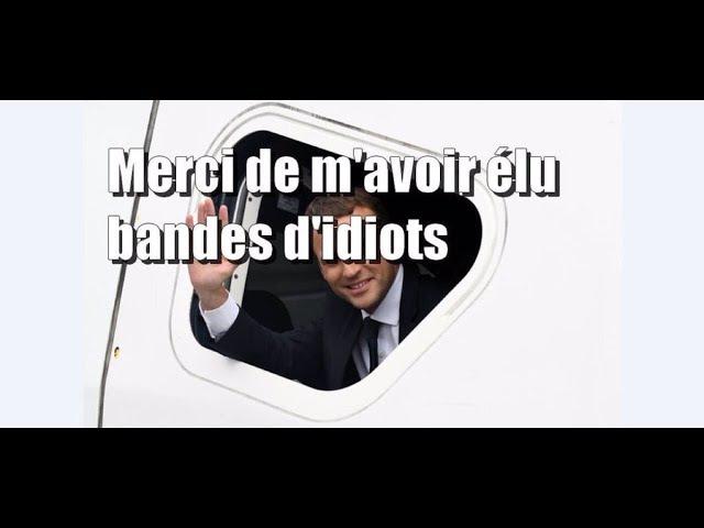 TOP 5 DES INSULTES DE MACRON CONTRE LES FRANÇAIS. LA 1ERE EST UNE HONTE