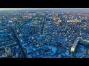 Житомир Южный с высоты птичьего полета зима 2016 2017