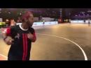 Финт Роналдиньо из футзального чемпионата Индии