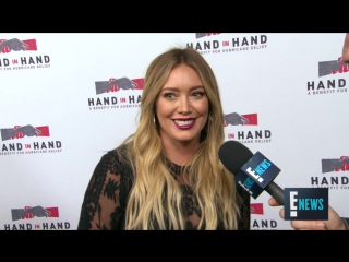 Hilary Duff Says Mother Nature Seems Pretty Pissed Off | E! Live from the Red Carpet