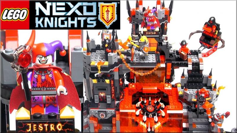 Лего Нексо Найтс 70323 Логово Джестро или Вулканическая база. Обзор LEGO Nexo Knights рыцари Нексо