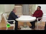 Владимир Путин вручил российский паспорт Стивену Сигалу (25.11.2016)
