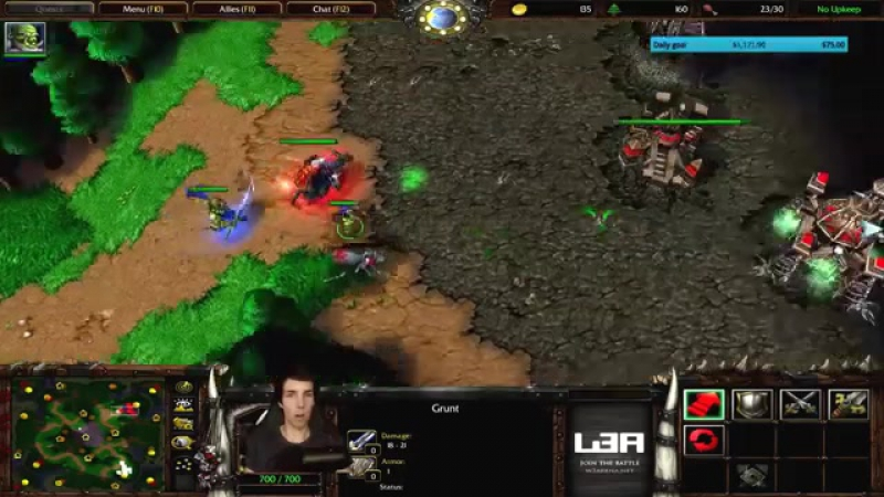 Grubby ¦ Warcraft 3 The Frozen Throne ¦ Orc v