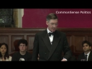 Jacob Rees-Mogg at Oxford Union
