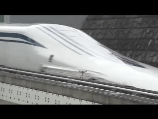 MLX 01 (Япония) — самый быстрый поезд в мире, абсолютный рекорд которого равняется 603 км/ч!