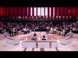 Спевшие пародию на песню Тает лед группы Грибы дети из Ижевска в программе Пусть говорят. Детство жжот.  Выпуск от 1 июня 2017 г