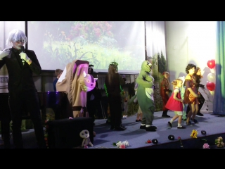 Выступление студии Howl на концерте музыки из аниме