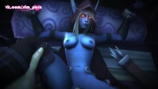 Warcraft порно видео сильвана