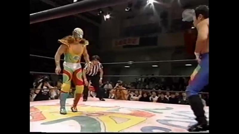 Super Delfin vs. Takehiro Murahama (Osaka Pro - Heart Beat 2000)