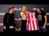 Вин Дизель и Шарлиз Терон на премьере «Форсаж 8» в Мадриде, Испания (06.04.2017)