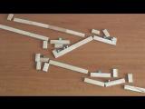 Гениальная машина Голдберга из магнитов и шариков (1)
