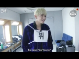 [RUS SUB][BANGTAN BOMB] This is how V warms up his voice before singing