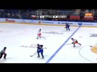 Кубок Первого канала 2016.Чехия - Швеция 4:1. Обзор матча