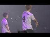 [FANCAM] 170225 EXO Baekhyun shaking Butt @ EXOrDIUM in Manila