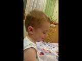 Назар читает стихотворение) 3,8 года