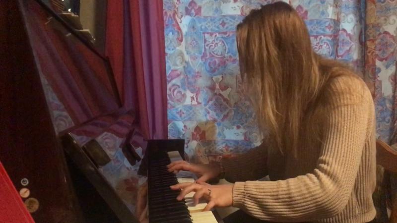 Елизавета Терновых - Осколок сердца, песня, музыка, стихи, поэзия, пианино, произведение, артист, шоу голос.