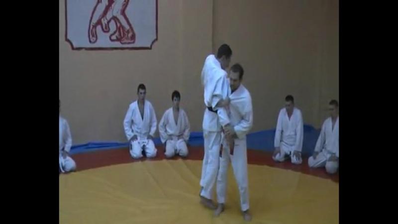 Ju Jutsu.Техника школы Кодокан Син Рю.Иппон сэои нагэ.