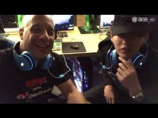 [SNS] 170210 Vin Diesel Facebook Update @ Wu Yi Fan