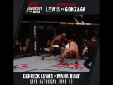 KO of the Week Derrick Lewis vs. Gonzaga